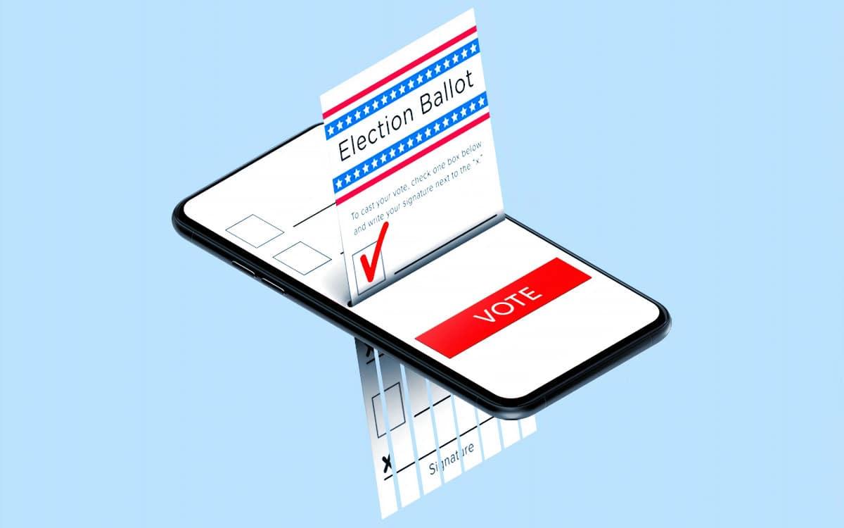 application vote electronique parlement europeen
