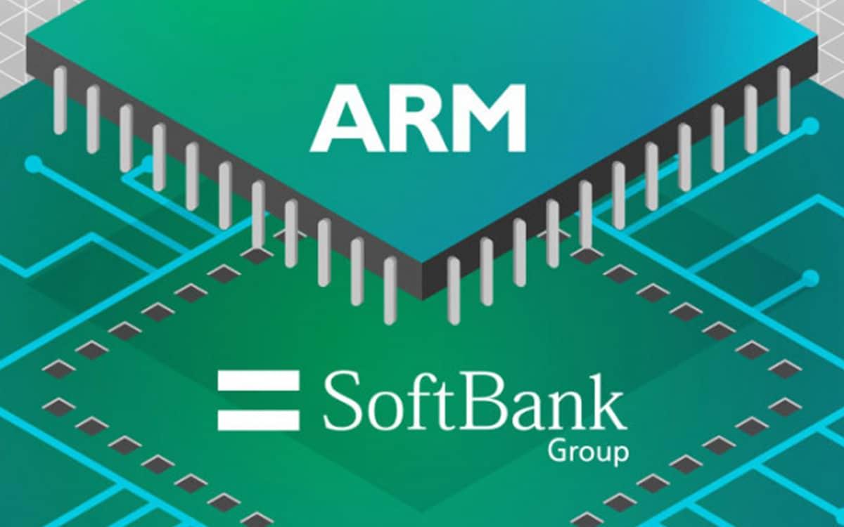 ARM Softbank logo