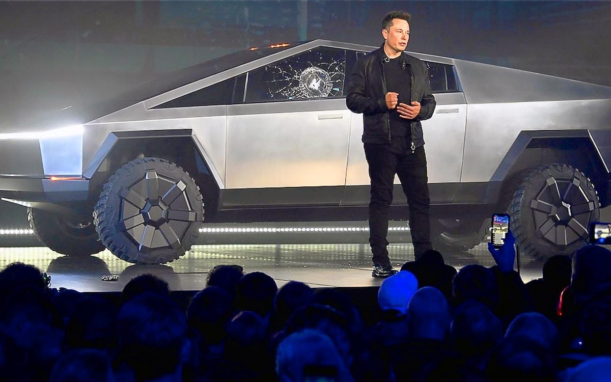 Cybertruck Elon Musk
