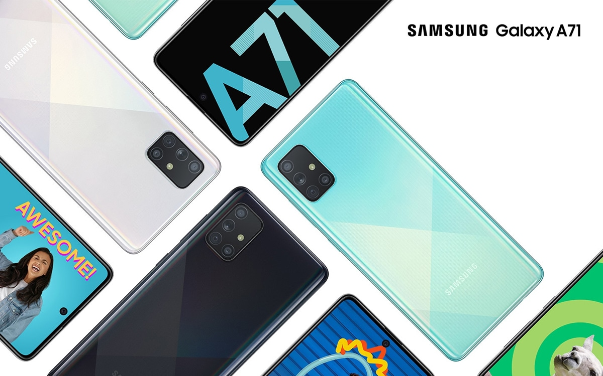 galaxy a72 stabilisation image optique - A developer installs several versions of Android on his smartphone and proves that the dual boot works