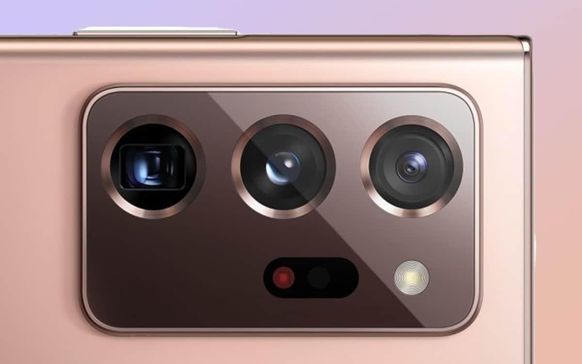 galaxy note 20 ultra appareil photo