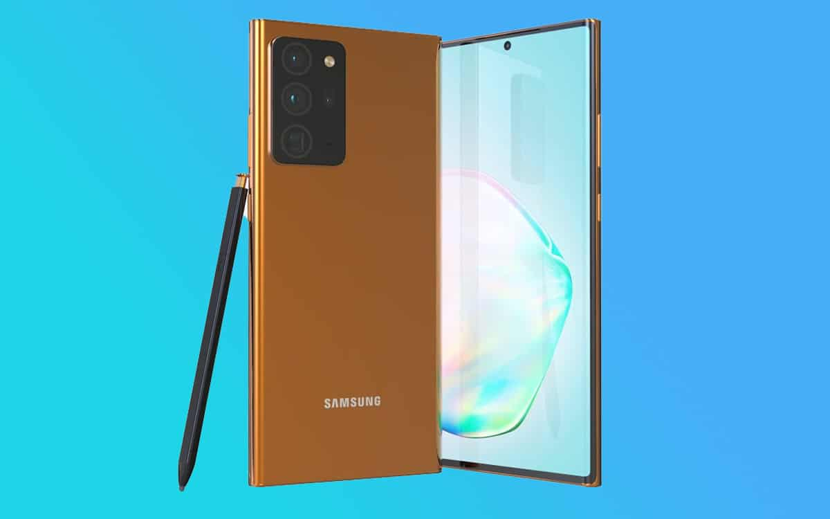 galaxy note 20 ultra design