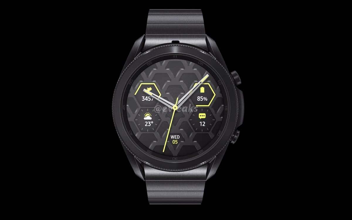 Galaxy Watch 3 : prix, date de sortie, fiche technique, design, tout savoir sur la montre connectée Samsung