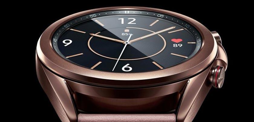 Galaxy Watch 3 et bronze