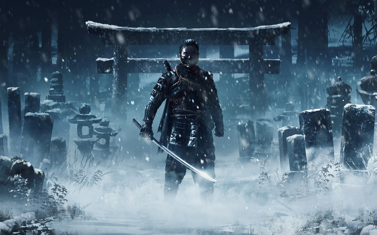 trailer lancement ghost of tsushima