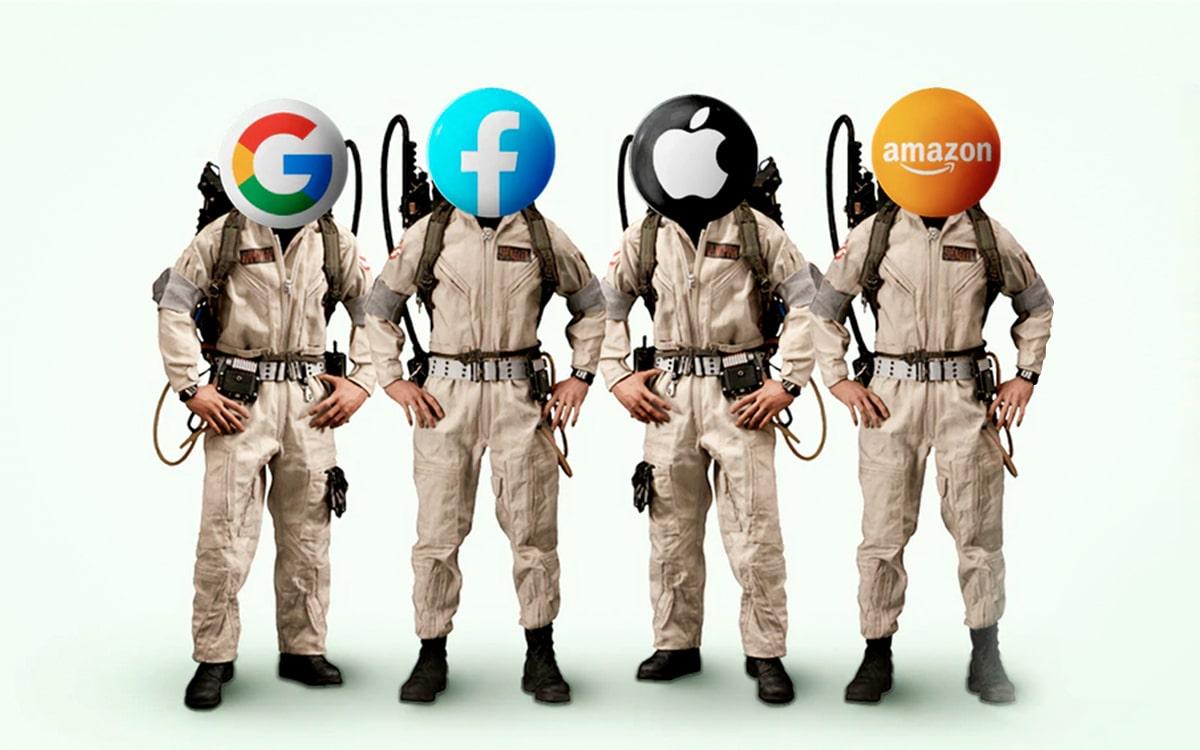 Google Facebook Apple Amazon