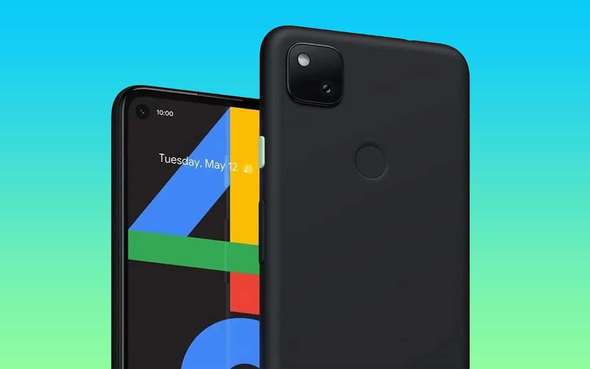 google pixel 4a fuite rendu