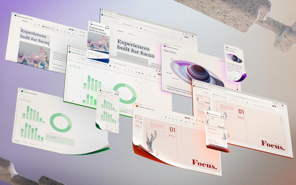 Microsoft Office : nouveau design