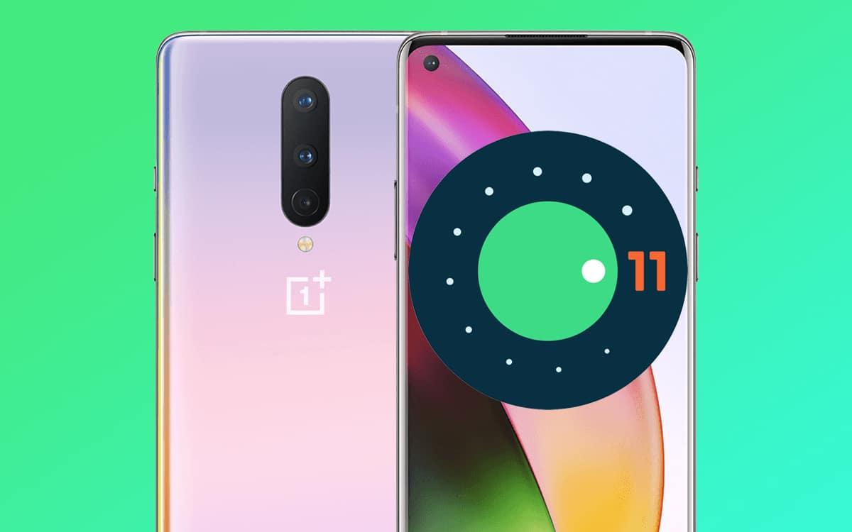 oneplus 8 pro android 11 beta 2