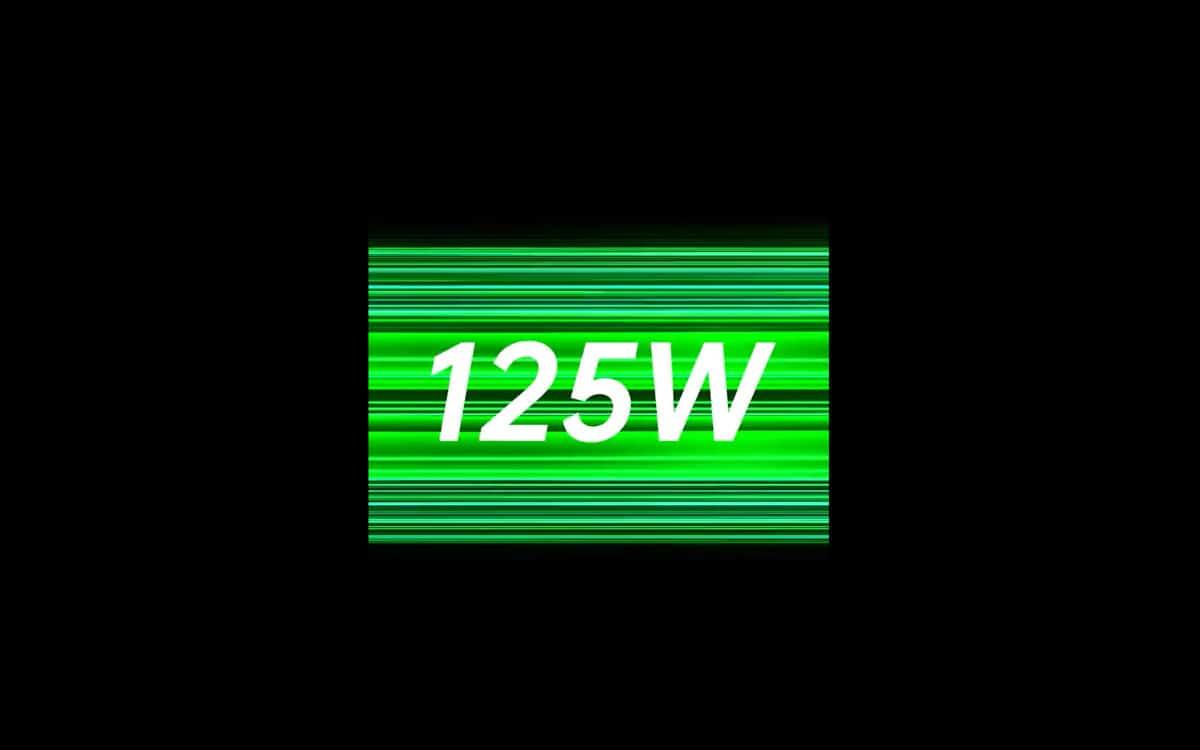 oppo supervooc 125 watts teaser
