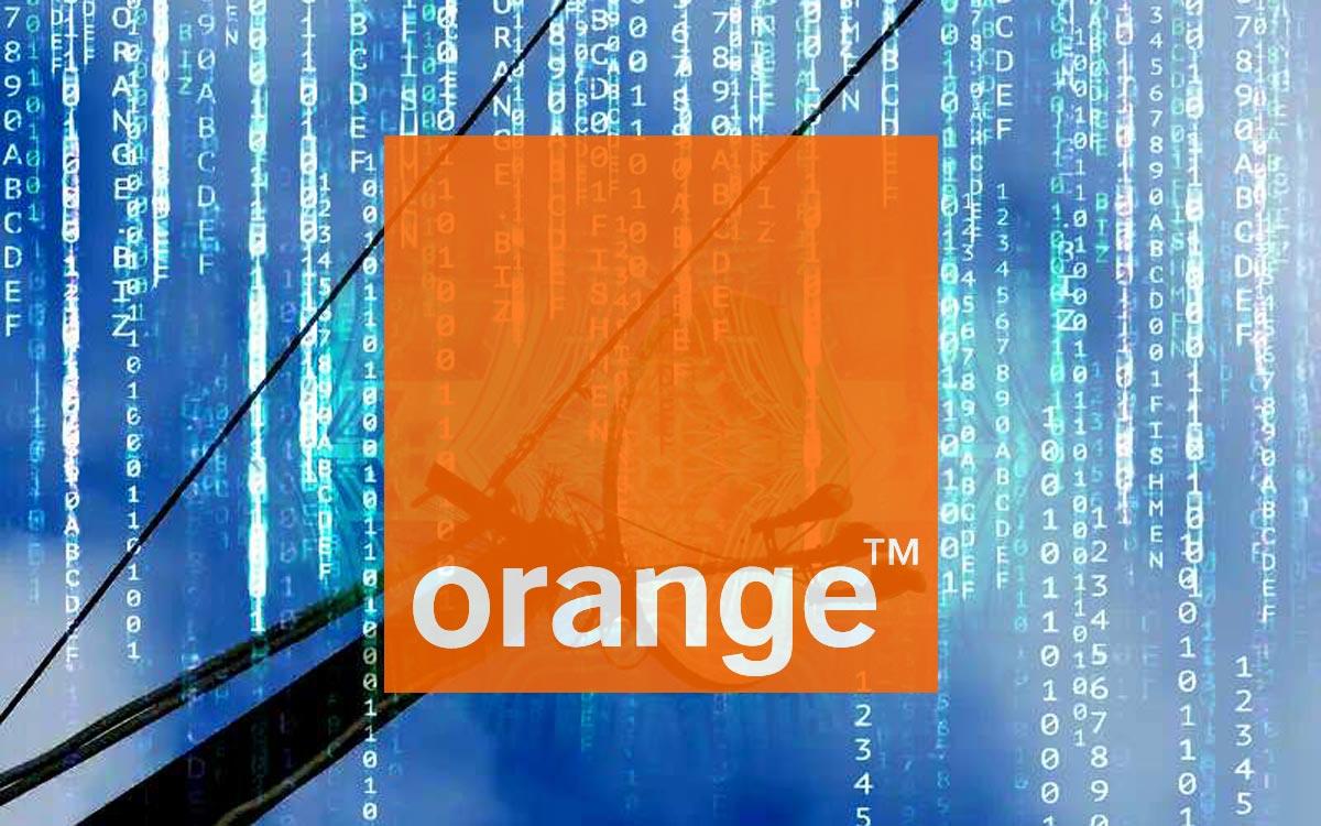 Orange Satellite
