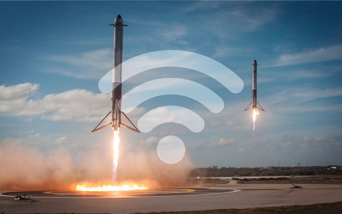 SpaceX routeur wifi box internet
