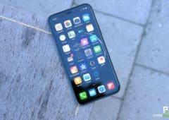 test iphone 11 pro ecran