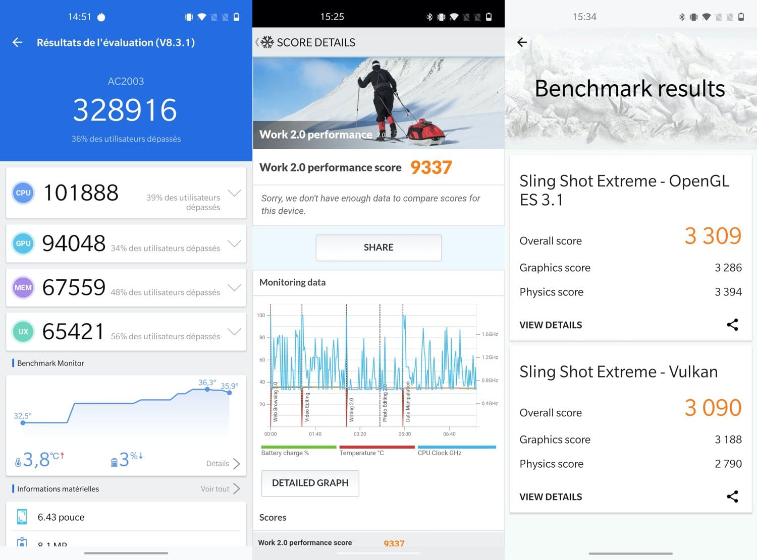 oneplus nord benchmarks test