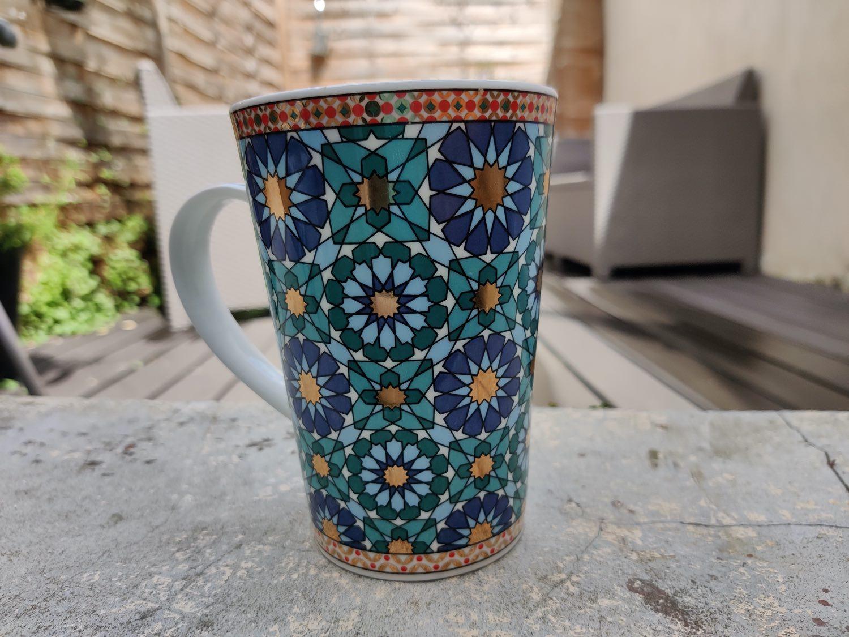 test one plus north photo mug