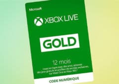 xbox live gold 12 mois