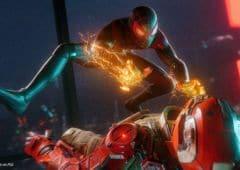 Spider Man sur PS5