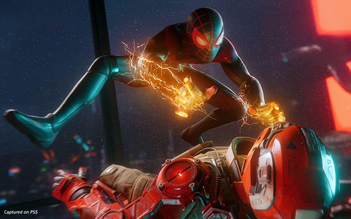 Spider-Man sur PS5