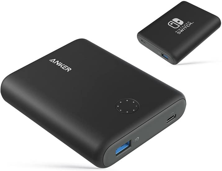 anker batterie nintendo switch 13400 mAh