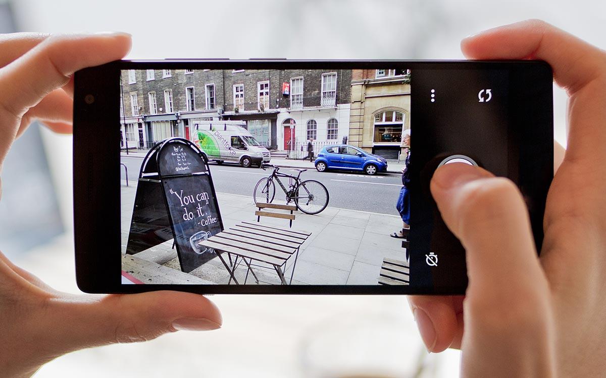 Android 11 : application caméra