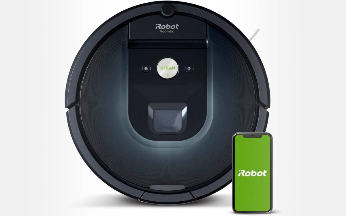 aspirateur robot iRobot Roomba 981 pas cher
