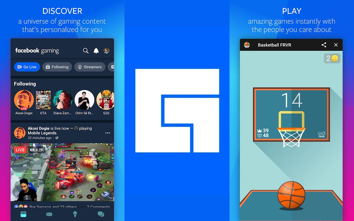 facebook gaming apple