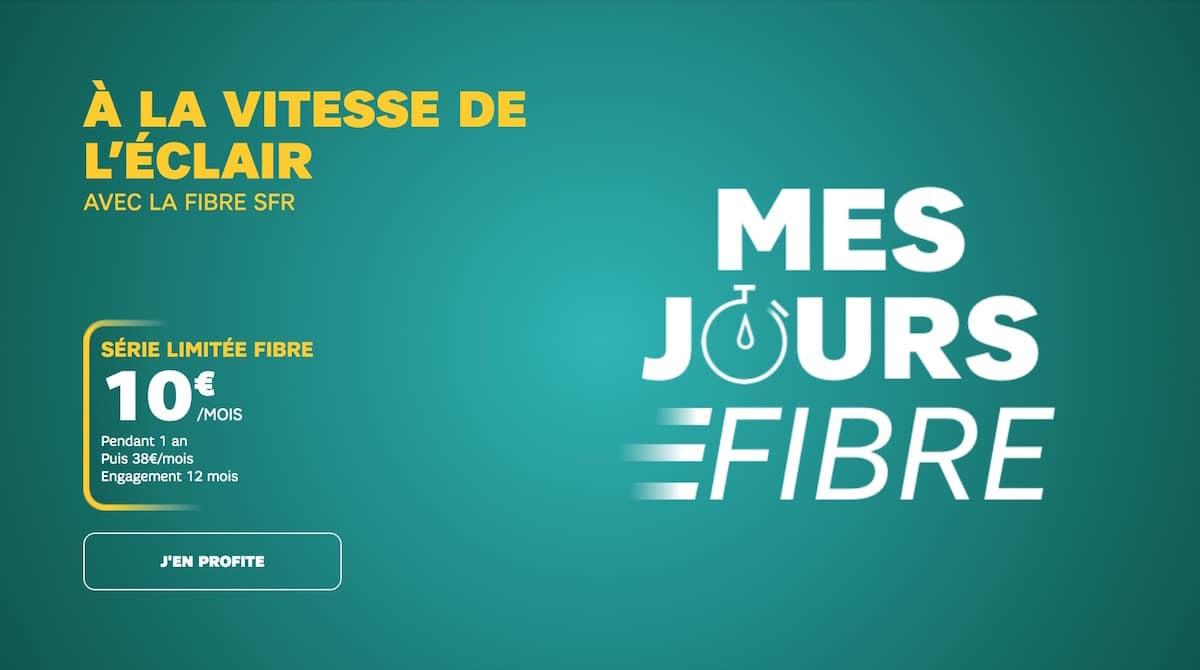 offre fibre Internet chez SFR
