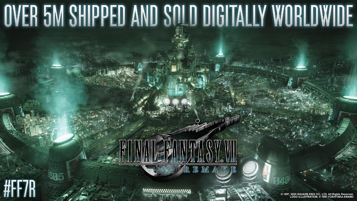 final fantasy vii ventes digitales