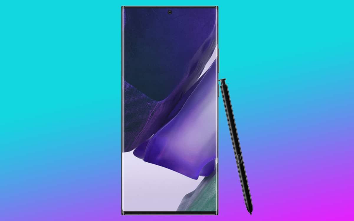 galaxy note 20 ultra écran parfait displaymate