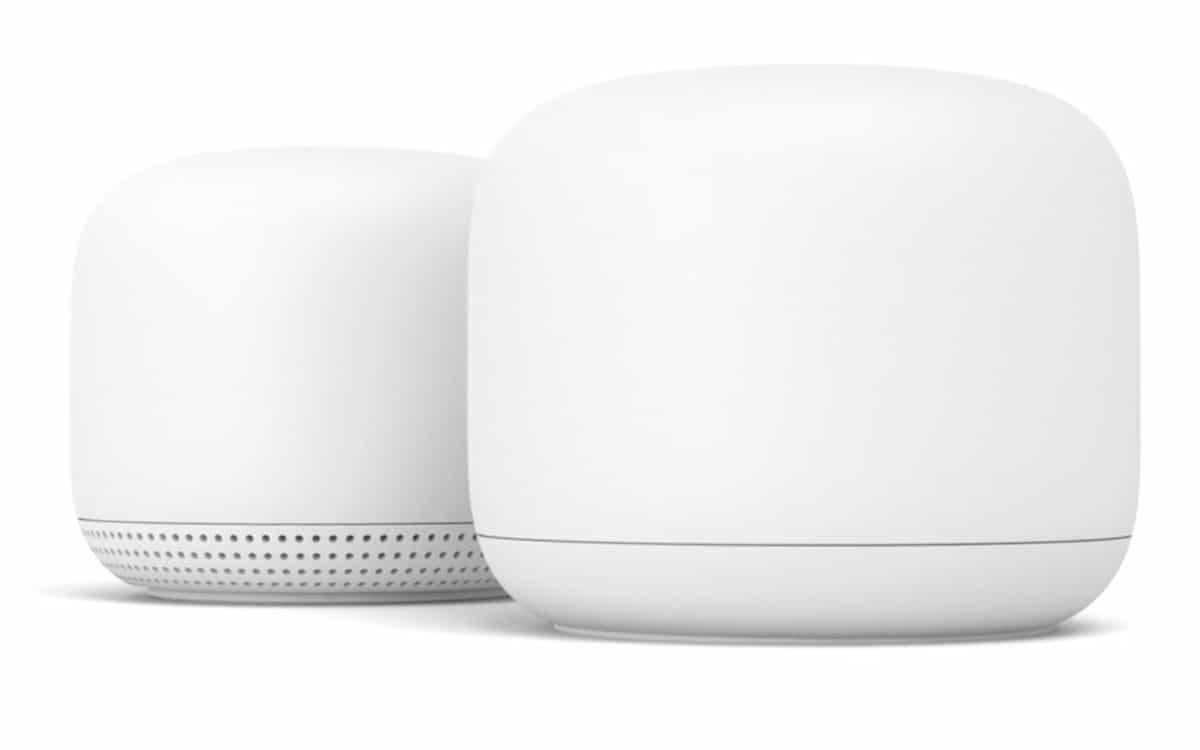 google nest wifi controle depuis google home