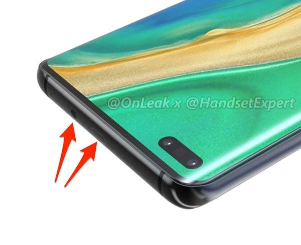 Huawei Mate 40 emplacmements
