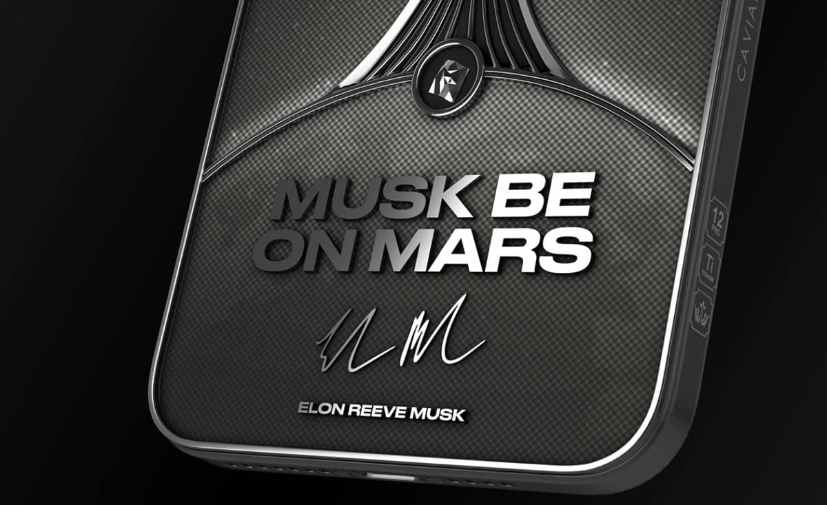 iphone 12 caviar musk be on mars