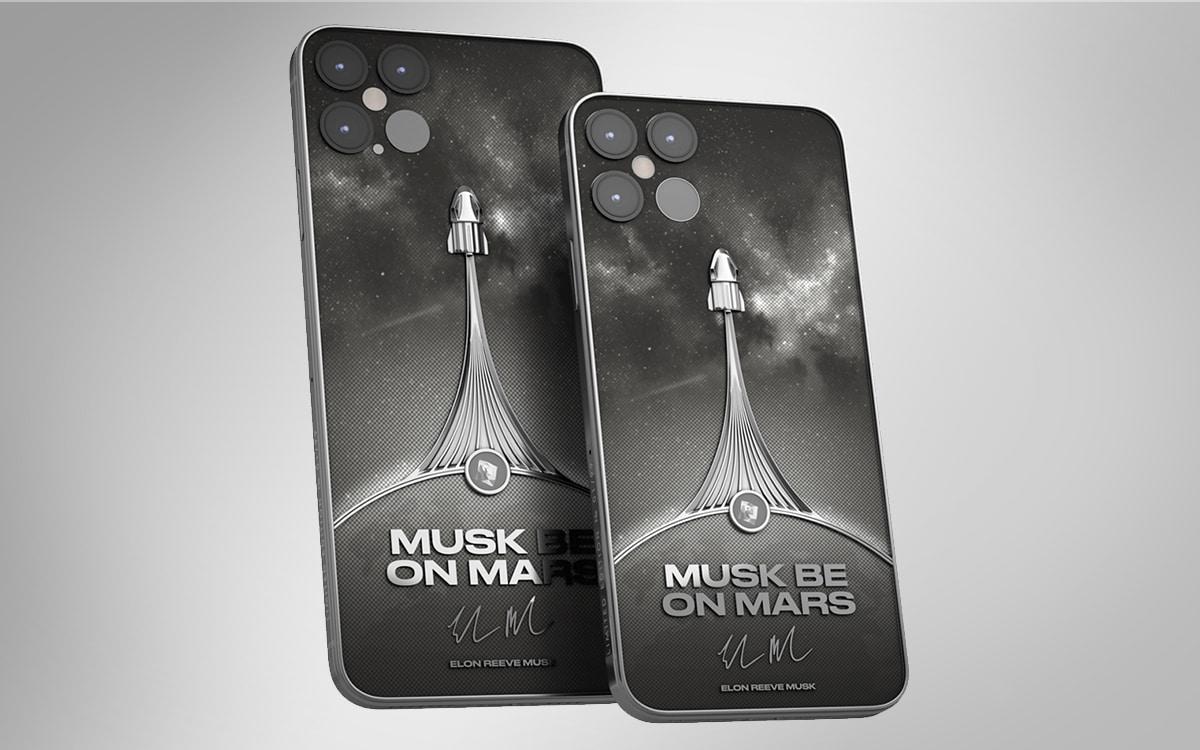 iphone 12 caviar musk be on mars