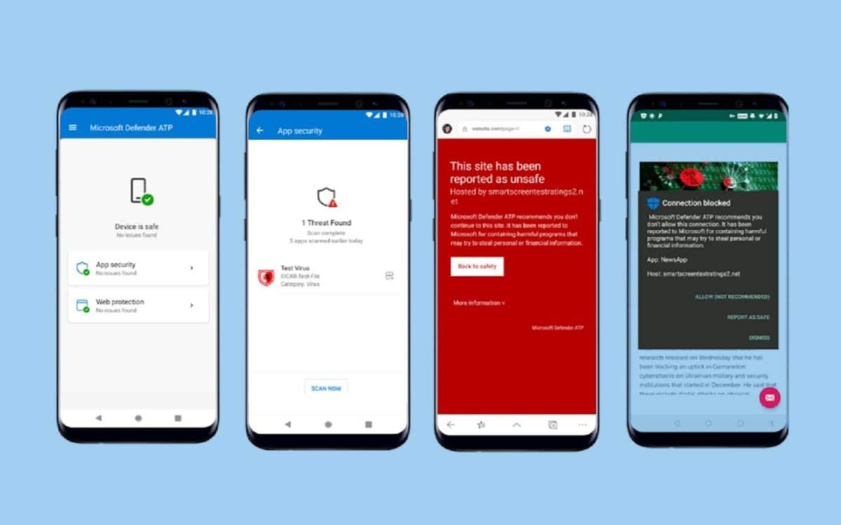 microsoft windows defender atp android - Windows Defender for Android is now available on the Play Store