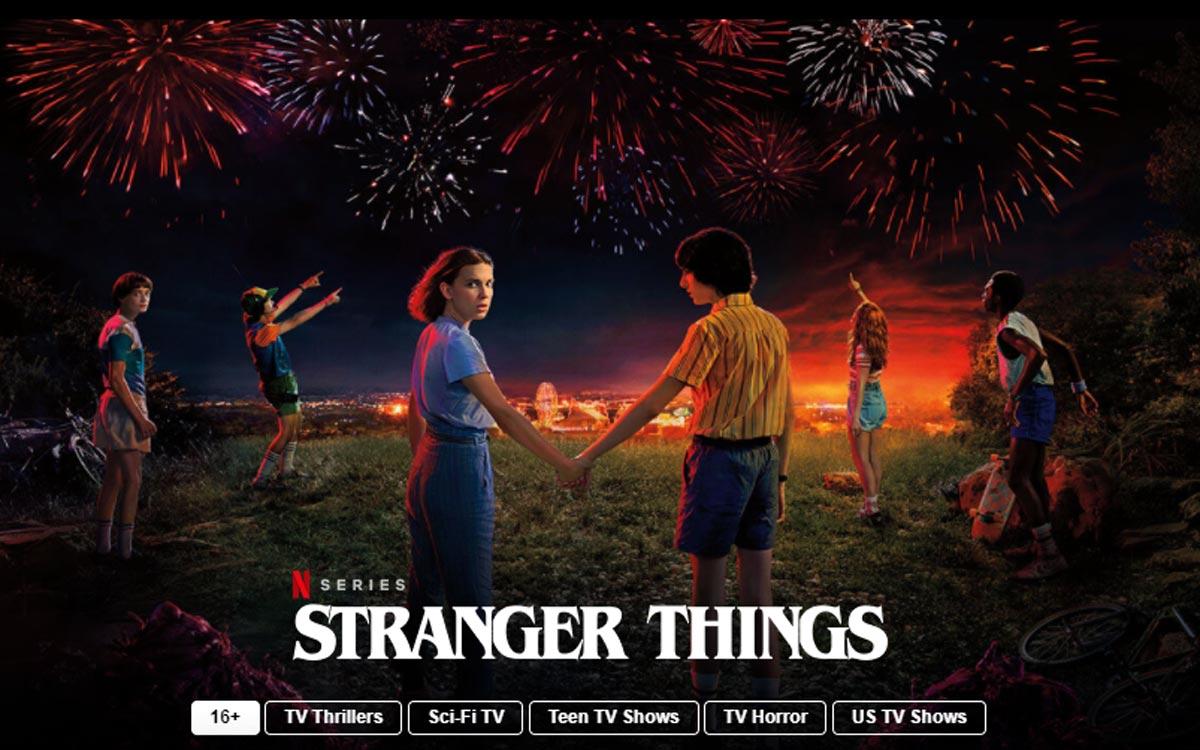 Netflix : films et séries gratuits