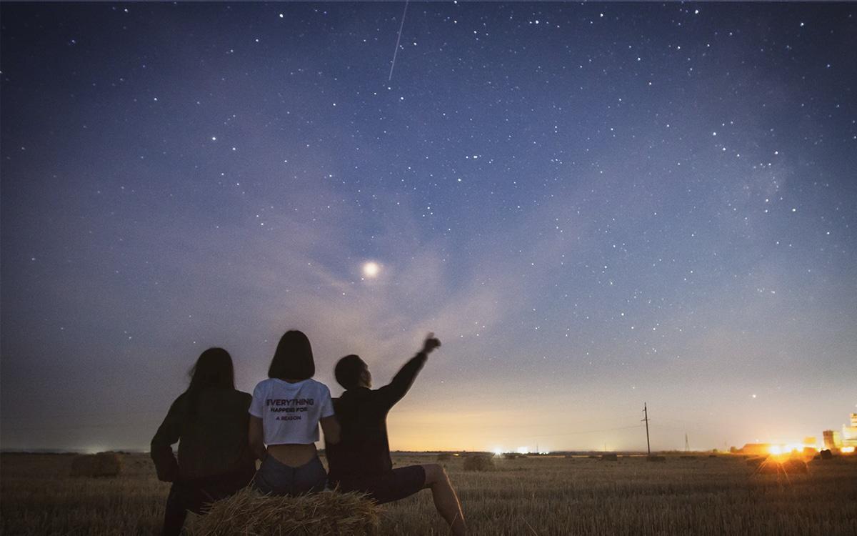 Pluie étoiles filantes 2020 Perséides