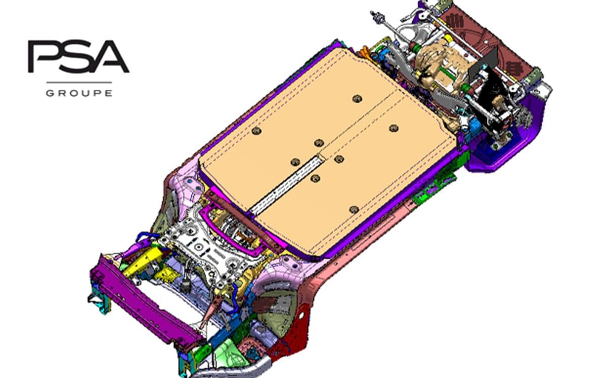 Motorisation eVMP Groupe PSA