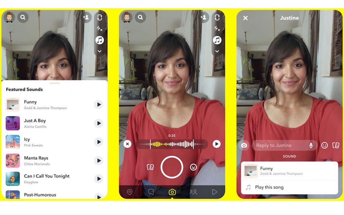 Snapchat TikTok