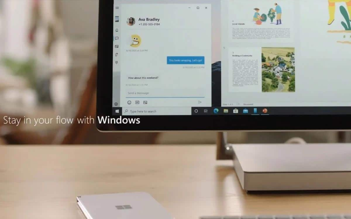 Surface Duo : application Android sur Windows 10