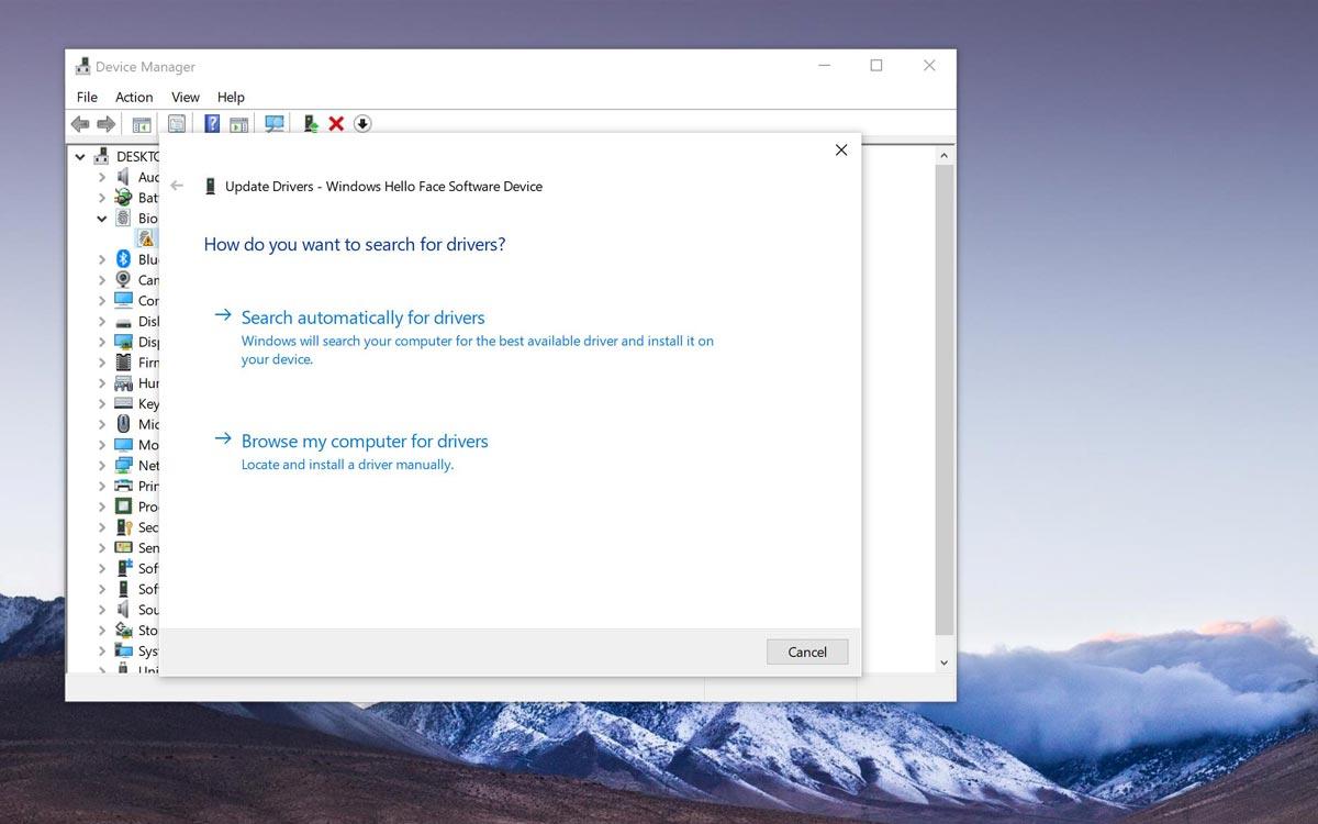 Windows 10 : gestionnaire de périphériques