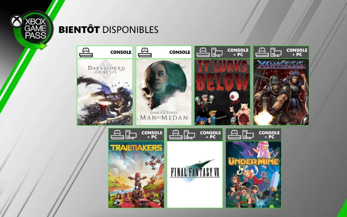 xbox game pass aout 2020