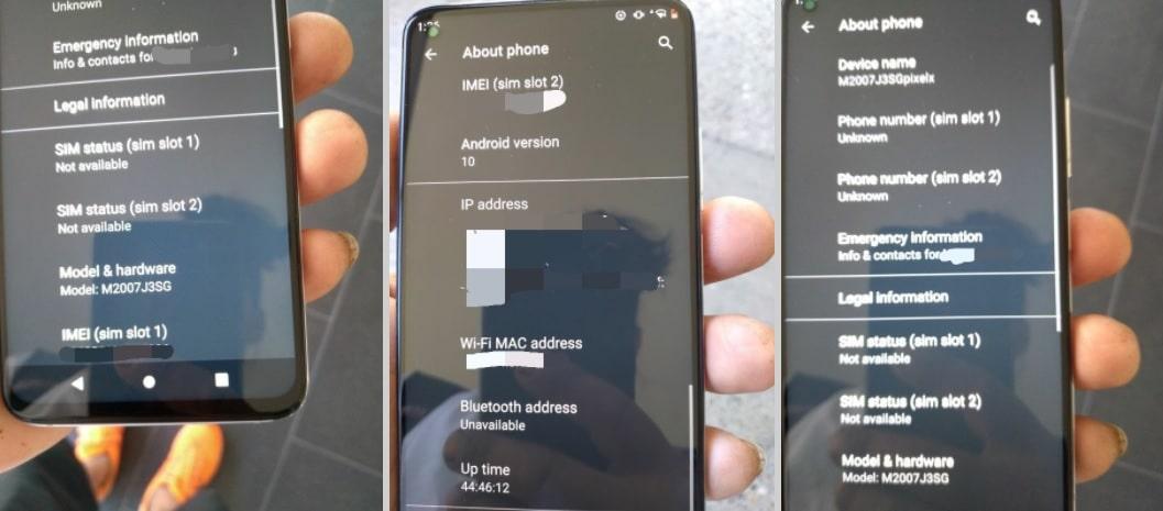 Xiaomi Mi 10T Pro écran