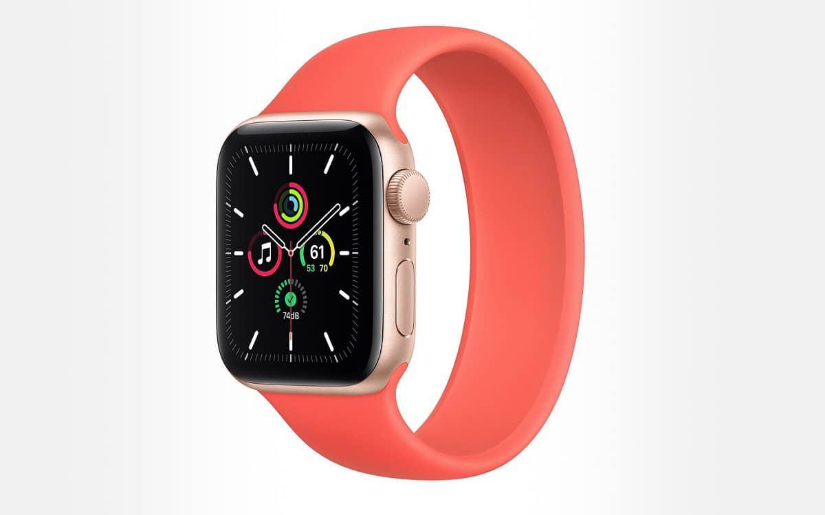 Apple Watch SE comparatif meilleur prix