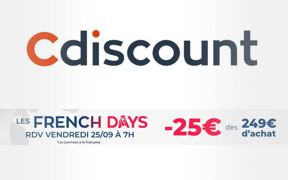 code promo Cdiscount pour les french days 2020