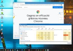 Chrome sous Windows 10 impact CPU