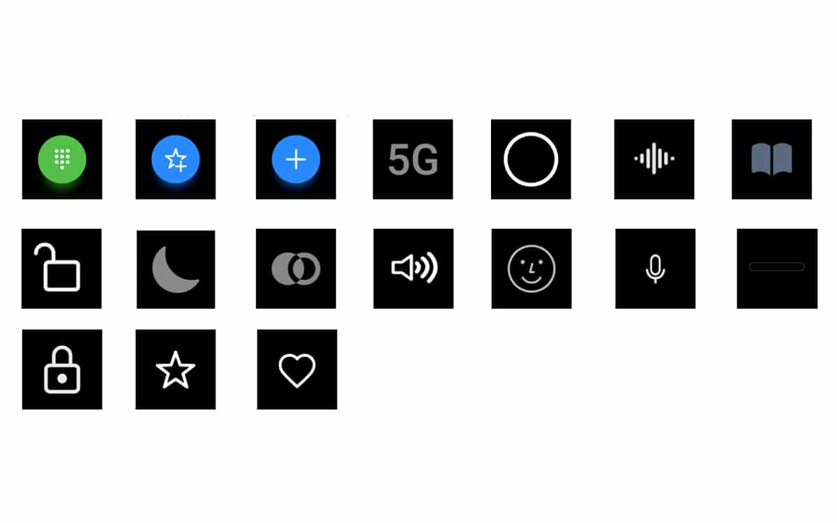 EMUI 11 new icons