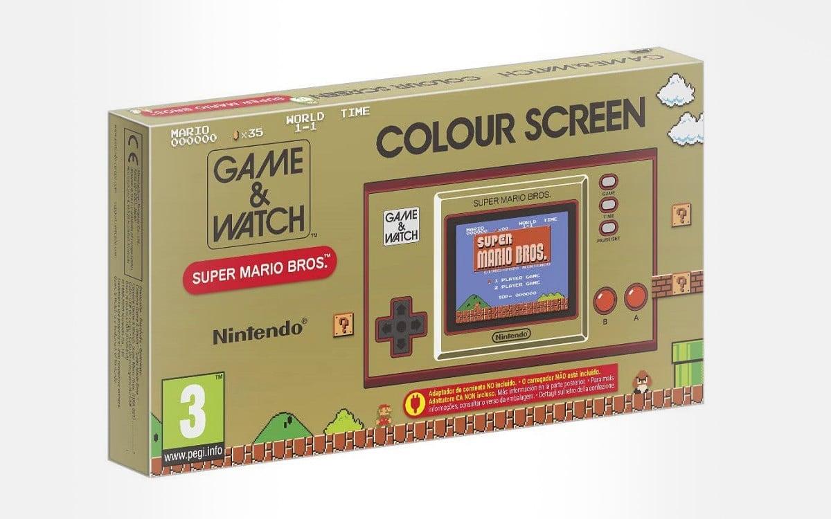 Précommande Game & Watch Super Mario Bros System