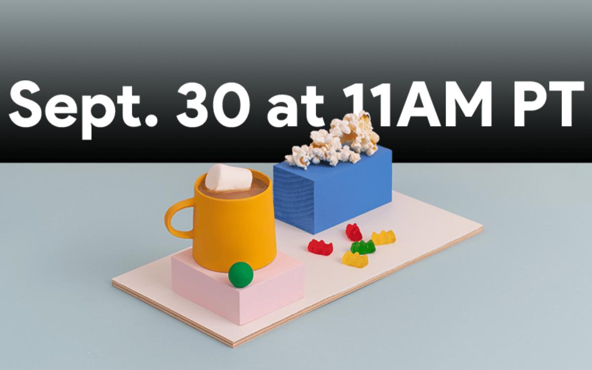 Google lancement Pixel 5