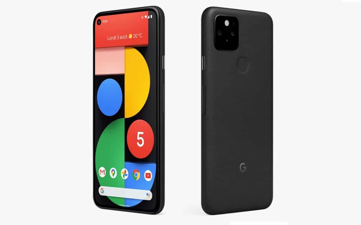 Google Pixel 5 meilleur smartphone rapport qualité prix