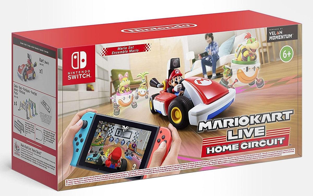 Mario Kart Live Home Circuit Mario et Luigi précommandes